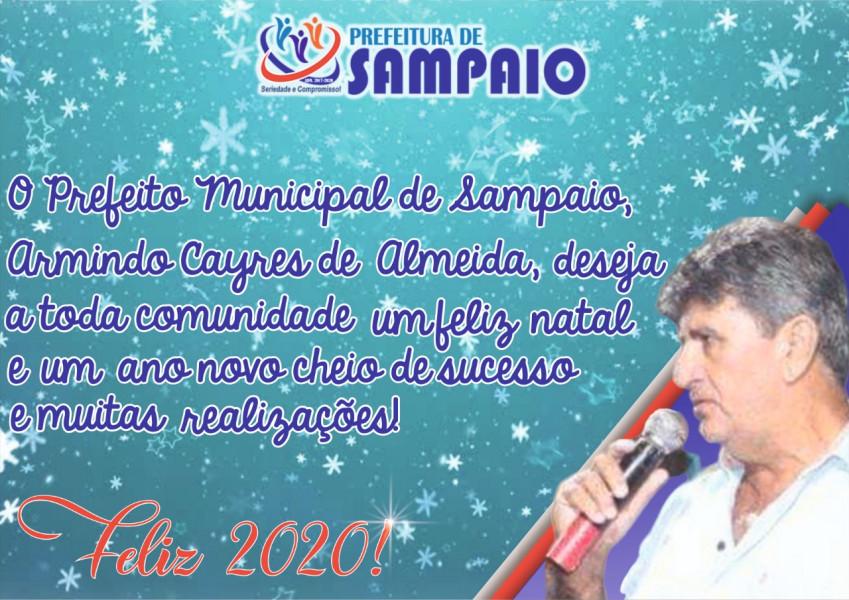 Prefeito Municipal de Sampaio, Armindo Cayres de Almeida
