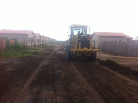 Reestruturação de ruas em Sampaio