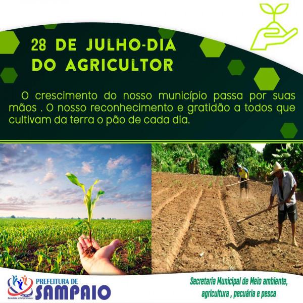 Feliz dia do agricultor